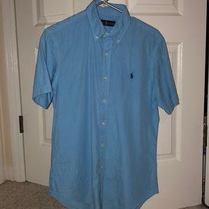 Short Sleeve Polo Button Down